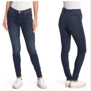 Hudson NWT Blair Supper Skinny Blue Jeans SZ 26